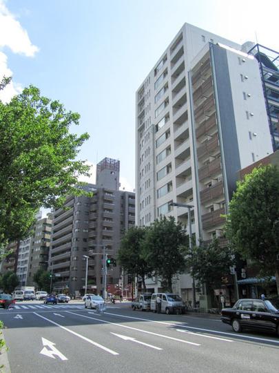 ラコント新宿セントラルパークアパートメントの外観