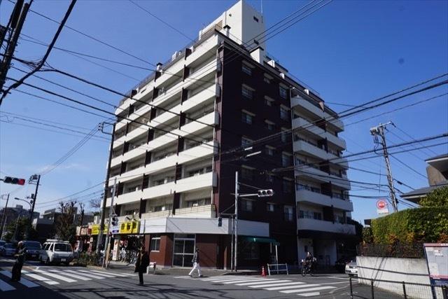 日商岩井上高田マンションの外観