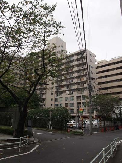越前堀永谷マンションの外観