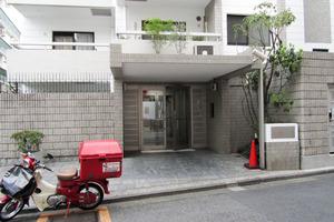 インペリアル渋谷神泉フラットのエントランス