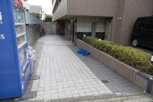 ルーブル東高円寺のエントランス