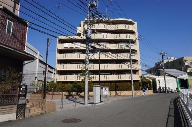 コアマンションリバーフロント二子多摩川の外観
