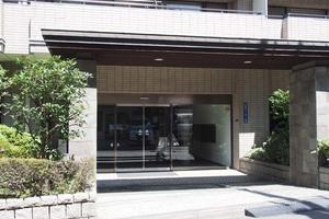 コスモ田端グレイスフォームのエントランス
