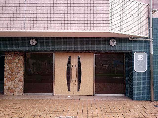 シンシア蒲田セカンドステージのエントランス