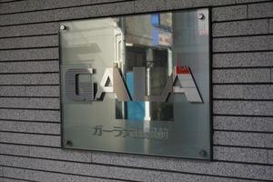 ガーラ大山駅前の看板