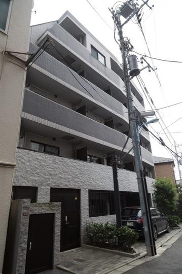 エルミタージュ南阿佐ヶ谷弐番館の外観