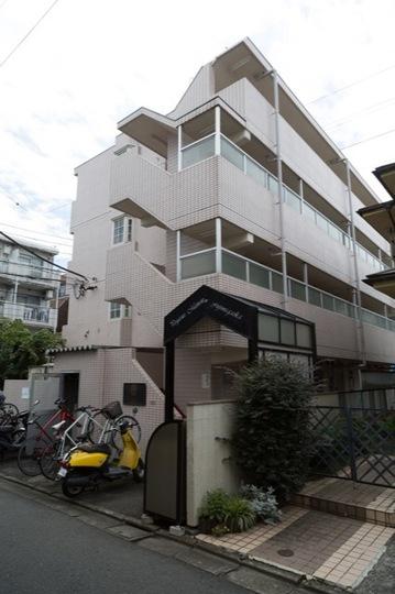 ペガサスマンション富士見丘の外観