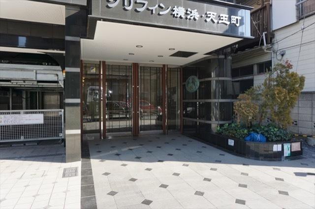 グリフィン横浜天王町のエントランス