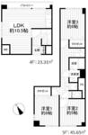 金沢八景ローズマンション【メゾネットタイプ】の間取り
