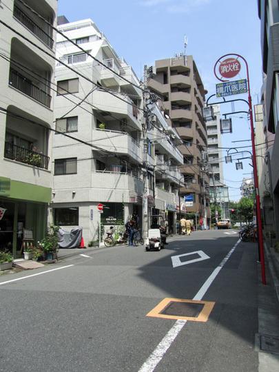 朝日プラザ北新宿の外観