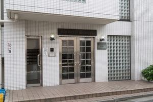 マイステージ笹塚のエントランス