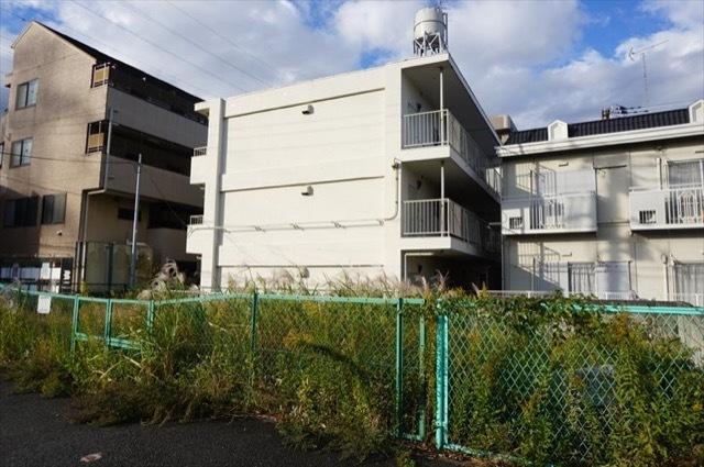綱島ハイム(横浜市港北区樽町)の外観