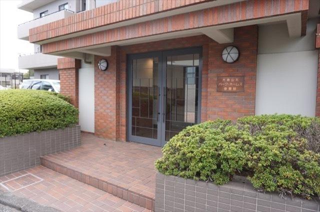 大倉山北パークホームズ3番館のエントランス