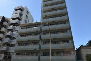 菱和パレス高輪タワーの外観