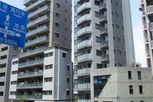 宮庭東新宿ビルの外観