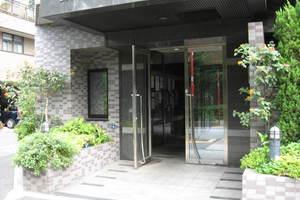 スカイコート新宿第8のエントランス
