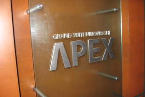 グランスイート日本橋エイペックスの看板