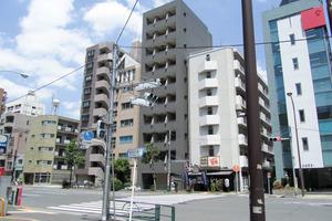 エスコート西早稲田の外観