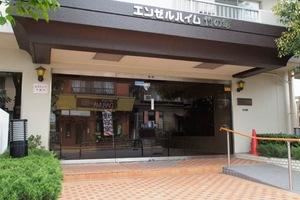 エンゼルハイム竹ノ塚のエントランス