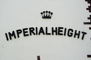 原宿インペリアルハイツの看板