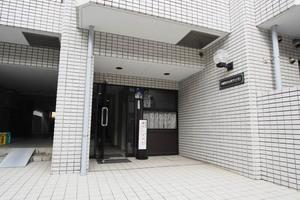 中銀第2小石川マンシオンのエントランス