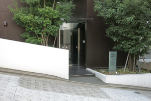 フィーノ渋谷のエントランス