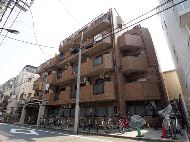 ライオンズマンション椎名町駅前通りの外観