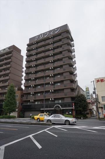 グリフィン横浜戸部駅前の外観