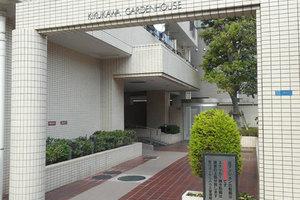 菊川ガーデンハウスのエントランス