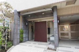 ドルチェ東京深川壱番館のエントランス