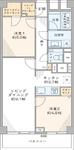 西新宿ハウスの間取り