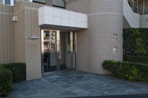 上野毛南パークハウスのエントランス