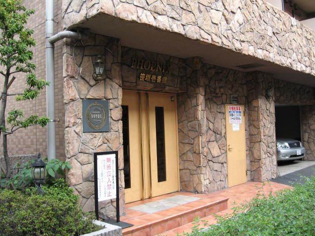 フェニックス笹塚壱番館のエントランス