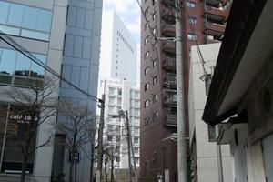 渋谷グランドハイツの外観