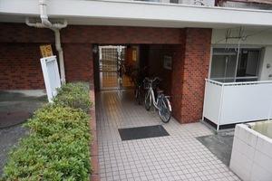 東武ハイライン高輪のエントランス