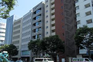 四谷坂町永谷マンションの外観