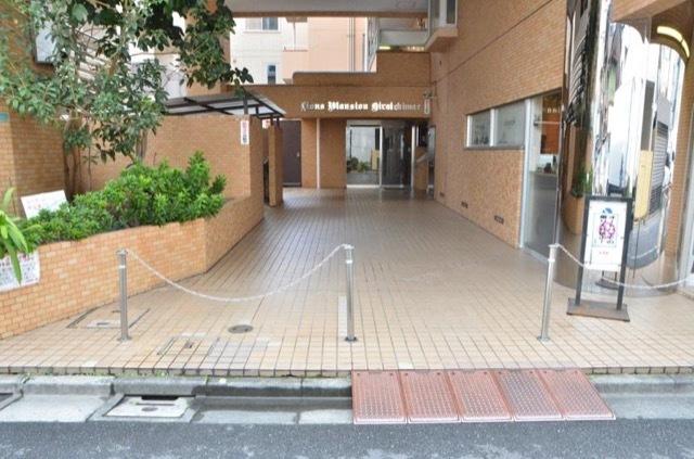 ライオンズマンション平井駅前のエントランス