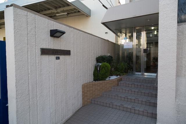 セブンスター集成第1マンションのエントランス