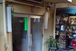 田園マンション(大田区)のエントランス
