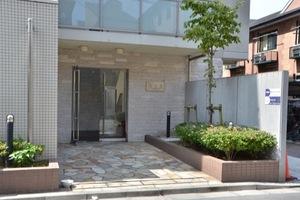 エクセリア東京イーストプレイスのエントランス