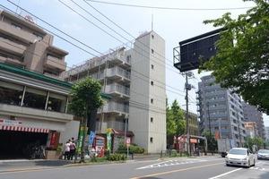 松江マンションの外観