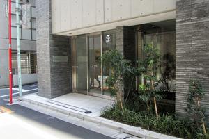 プレミスト渋谷宮益坂のエントランス