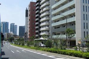 コンシェリア西新宿の外観
