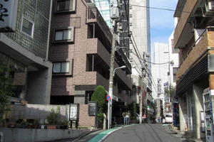 渋谷アムフラットの外観