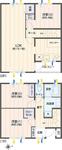 コスモ横浜藤棚4番館【メゾネットタイプ】の間取り