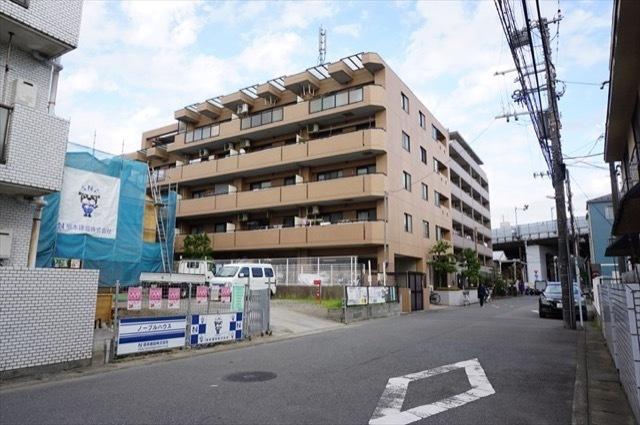 クリオ武蔵新城7番館の外観