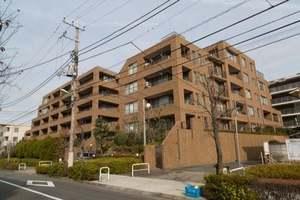 上野毛シティハウスの外観