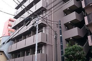 ルーブル西蒲田弐番館の外観