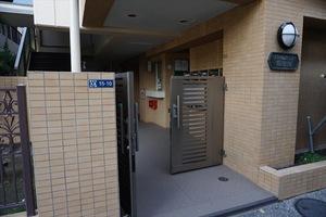 バームハイツ隅田公園のエントランス