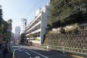 鳥居坂三生マンションの外観